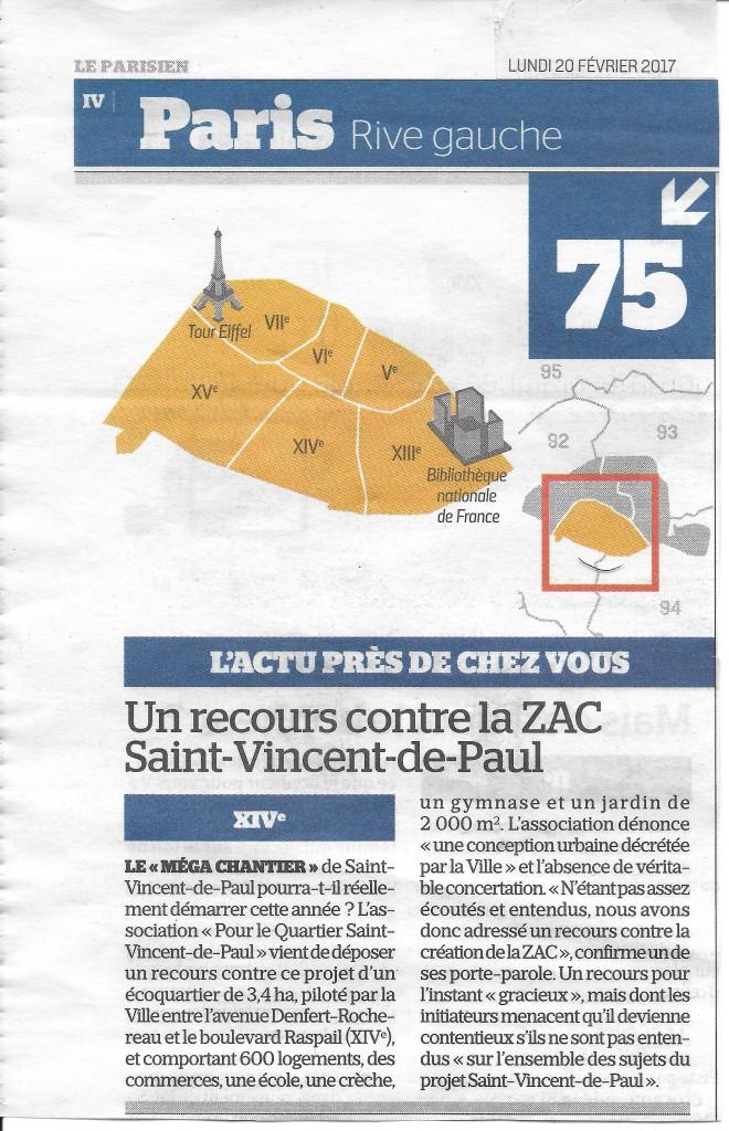 17-02-17 Le Parisien