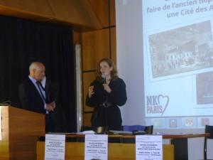 Nathalie KOSCIUSKO-MORIZET à la réunion de l'AQSVP14 du 14 février 2014