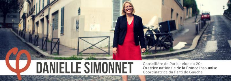 Danielle Simonnet, Conseillère de Paris France insoumise